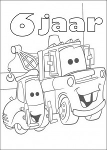 coloring page Takel 6 year