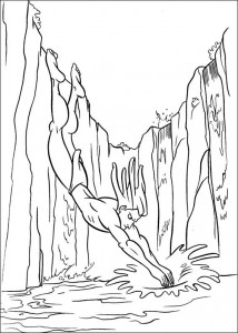 målarbok Tarzan (19)