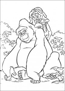 Malvorlage Tarzan (23)