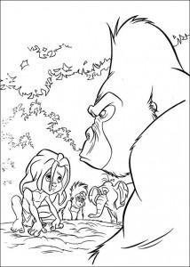 kleurplaat Tarzan (35)