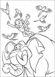 Malvorlage Tarzan (47)