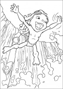 kleurplaat Tarzan (48)