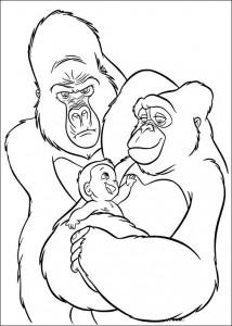 kleurplaat Tarzan (52)