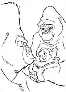 målarbok Tarzan (53)