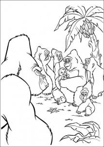 kleurplaat Tarzan (54)