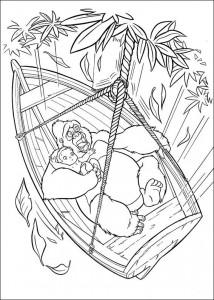 kleurplaat Tarzan (56)