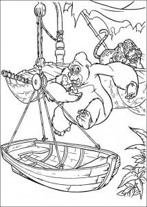 kleurplaat Tarzan (59)