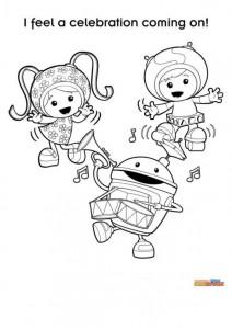 kleurplaat Team Umizoomi (1)
