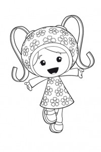 coloring page Team Umizoomi (2)