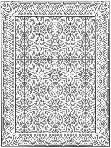 coloring page Tiles (1)