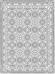 kleurplaat Tegels (1)