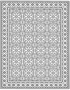 coloring page Tiles (10)