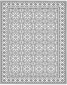 kleurplaat Tegels (10)