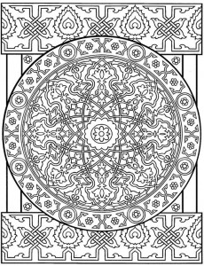 coloring page Tiles (11)