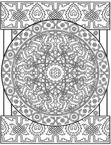 kleurplaat Tegels (11)