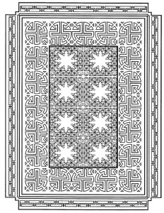coloring page Tiles (12)