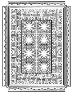 kleurplaat Tegels (12)
