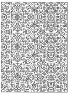 coloring page Tiles (14)