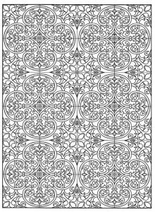 kleurplaat Tegels (14)