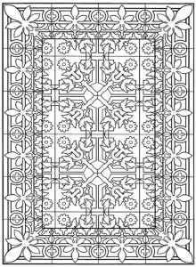 coloring page Tiles (17)
