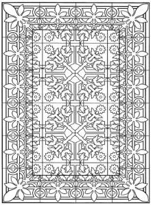 kleurplaat Tegels (17)
