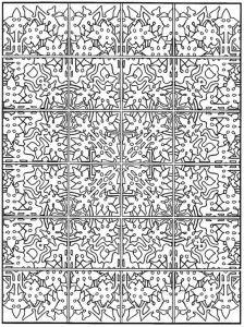 coloring page Tiles (18)