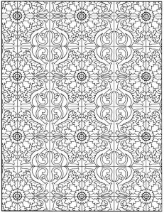 coloring page Tiles (19)