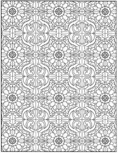 kleurplaat Tegels (19)