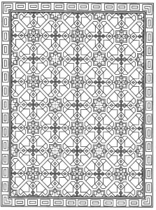 coloring page Tiles (2)