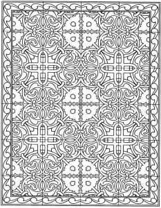 coloring page Tiles (20)