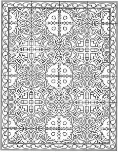 kleurplaat Tegels (20)