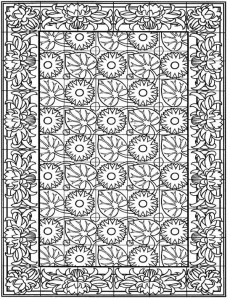 coloring page Tiles (21)