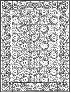 kleurplaat Tegels (21)