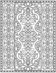 coloring page Tiles (22)