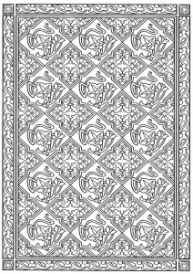 coloring page Tiles (23)