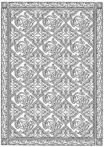 kleurplaat Tegels (23)