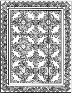 coloring page Tiles (24)