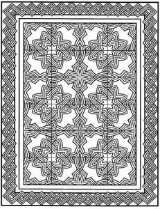 kleurplaat Tegels (24)