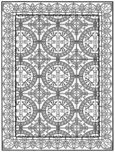 coloring page Tiles (25)