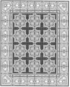 kleurplaat Tegels (26)