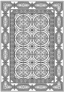kleurplaat Tegels (27)