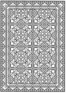 coloring page Tiles (28)