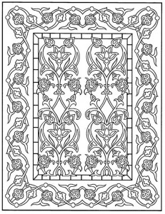 kleurplaat Tegels (29)