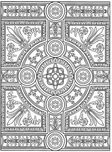 coloring page Tiles (3)