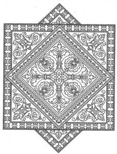 kleurplaat Tegels (8)