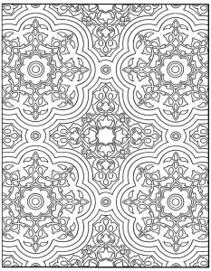 coloring page Tiles