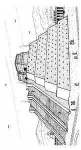 målarbok Tenochtitlan, Aztecens mall
