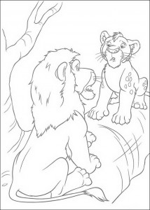 coloring page The Wild (10)