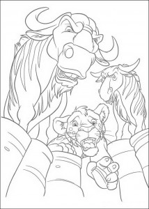 coloring page The Wild (12)
