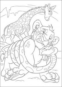 coloring page The Wild (13)